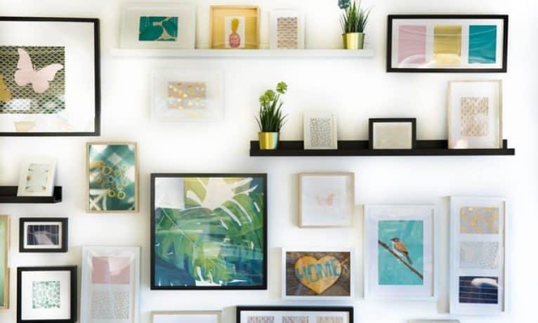 Jak najlepiej powiesić obraz na ścinanie?